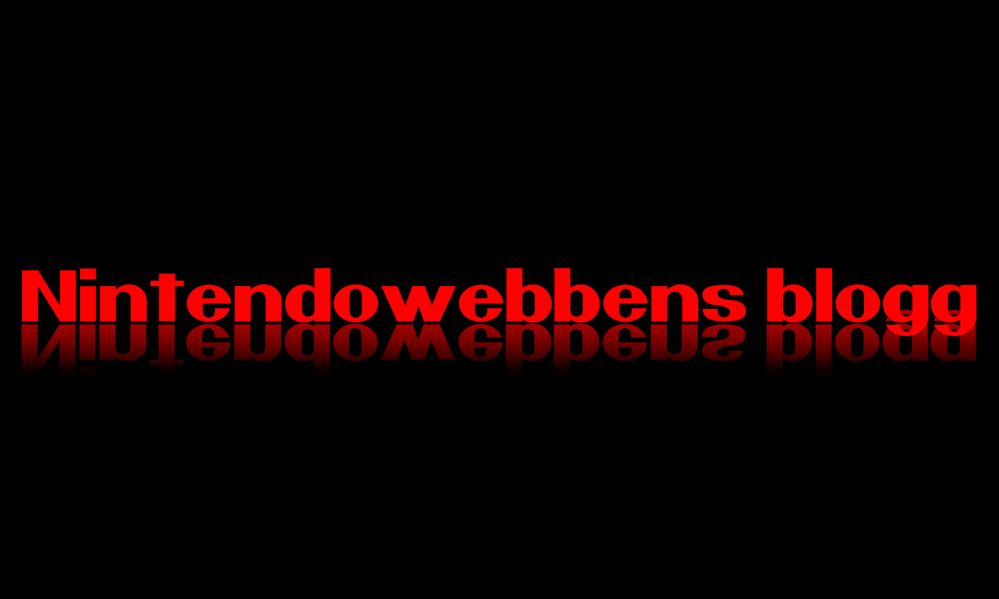 Nintendowebbens blogg